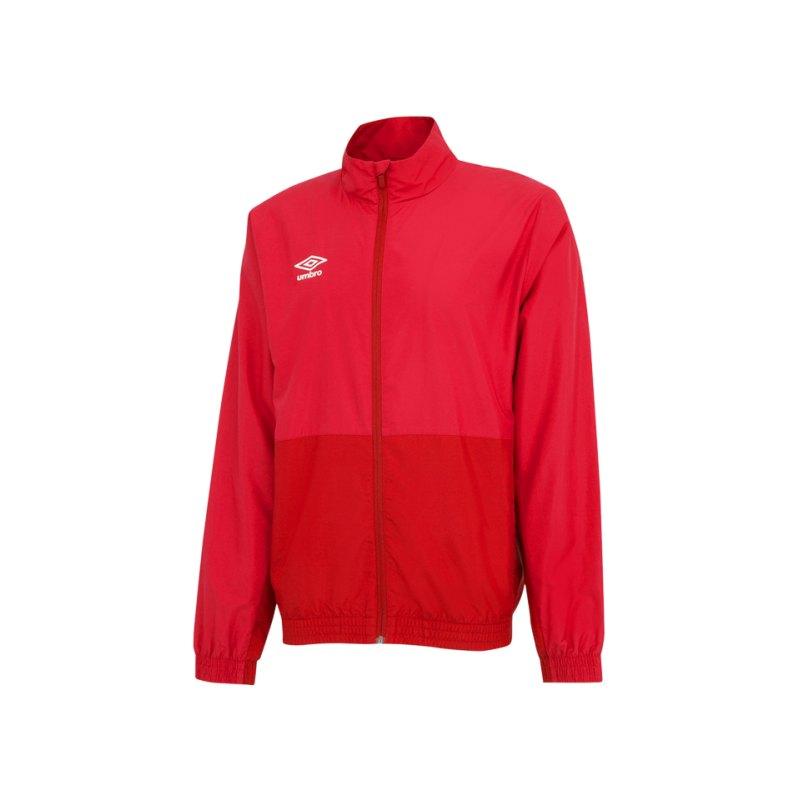 Umbro Training Woven Jacket Jacke Rot FDNC - rot