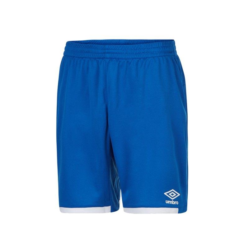 Umbro Premier Short Hose kurz Blau FDX4 - blau
