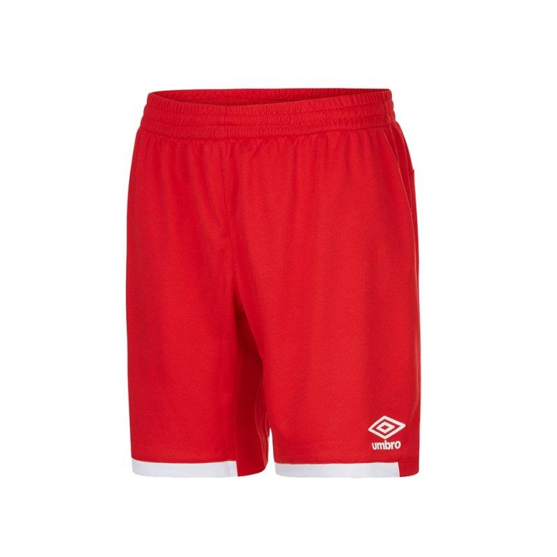 Umbro Premier Short Hose kurz Rot FA54 - rot