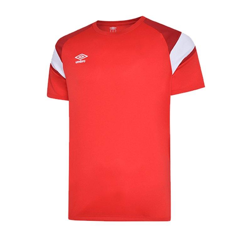 Umbro Training Jersey Trikot Rot FGQZ - rot