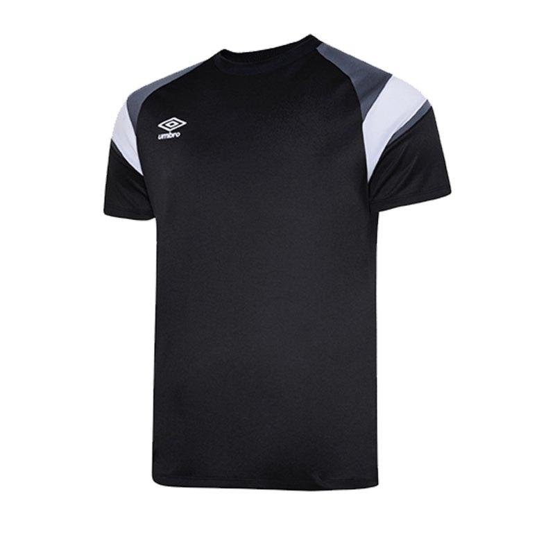 Umbro Training Jersey Trikot Kids Schwarz FGR6 - schwarz