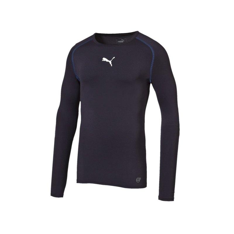 PUMA Longsleeve Shirt TB Dunkelblau F06 - blau