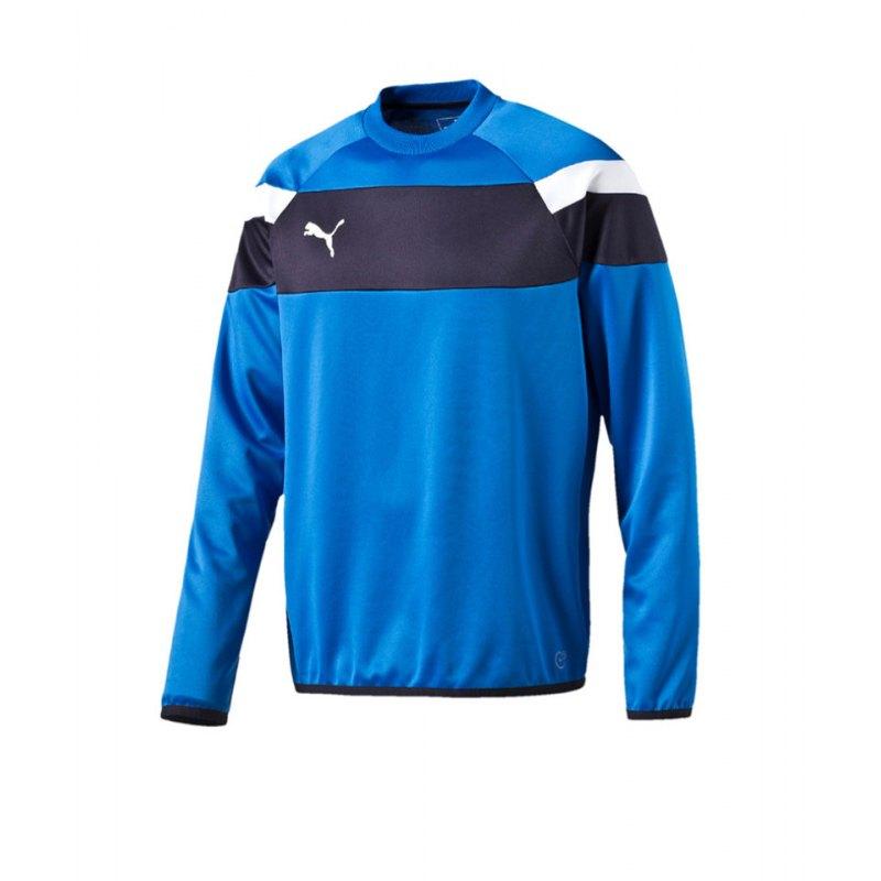 PUMA Sweatshirt Training Spirit II Blau Weiss F02 - blau