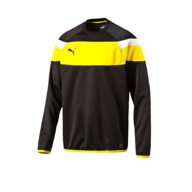 PUMA Sweatshirt Training Spirit II Schwarz F37 - schwarz
