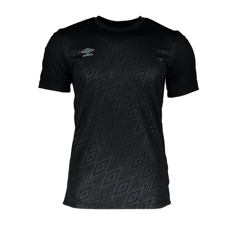 Umbro Training Jersey T-Shirt Schwarz F060 - Schwarz