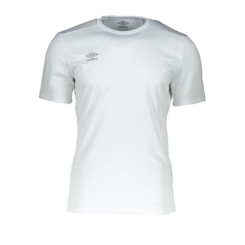 Umbro Training Jersey T-Shirt Weiss F13V - Weiss