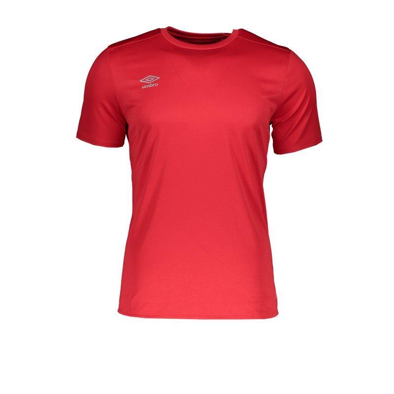 Umbro Training Poly T-Shirt Rot FB26 - Rot
