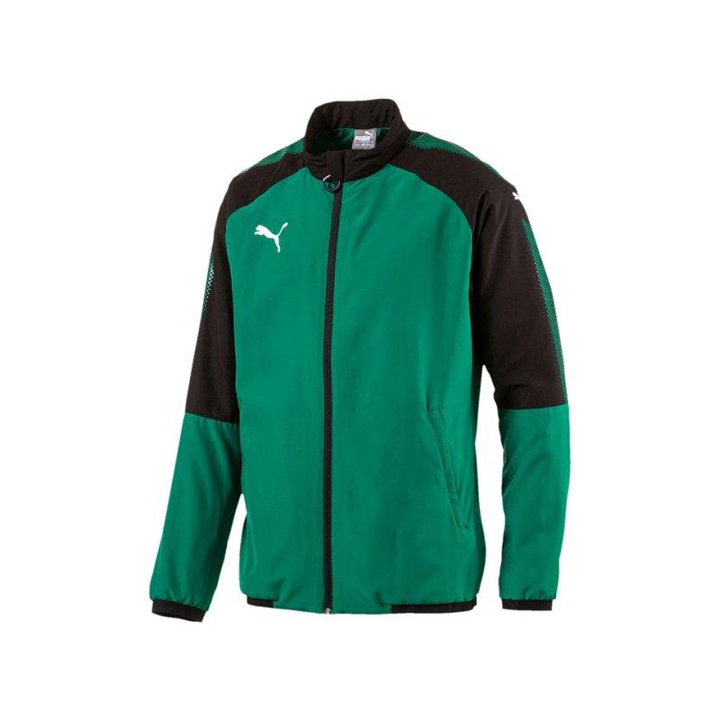 PUMA Trainingsjacke Ascension Woven Grün F05 - gruen