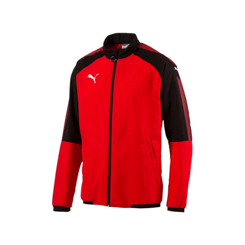PUMA Trainingsjacke Ascension Woven Rot F01 - rot