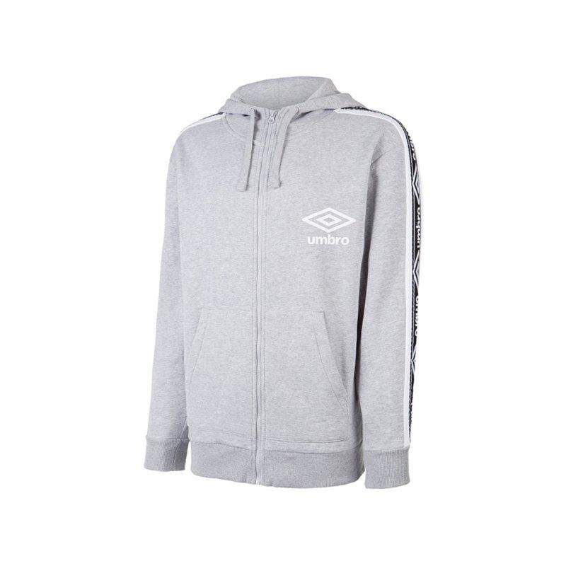 Umbro Taped FZ Jacke Grau FGT2 - Grau
