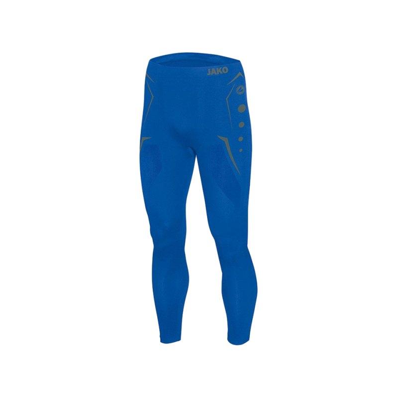 Jako Hose Comfort Long Tight Blau F04 - blau