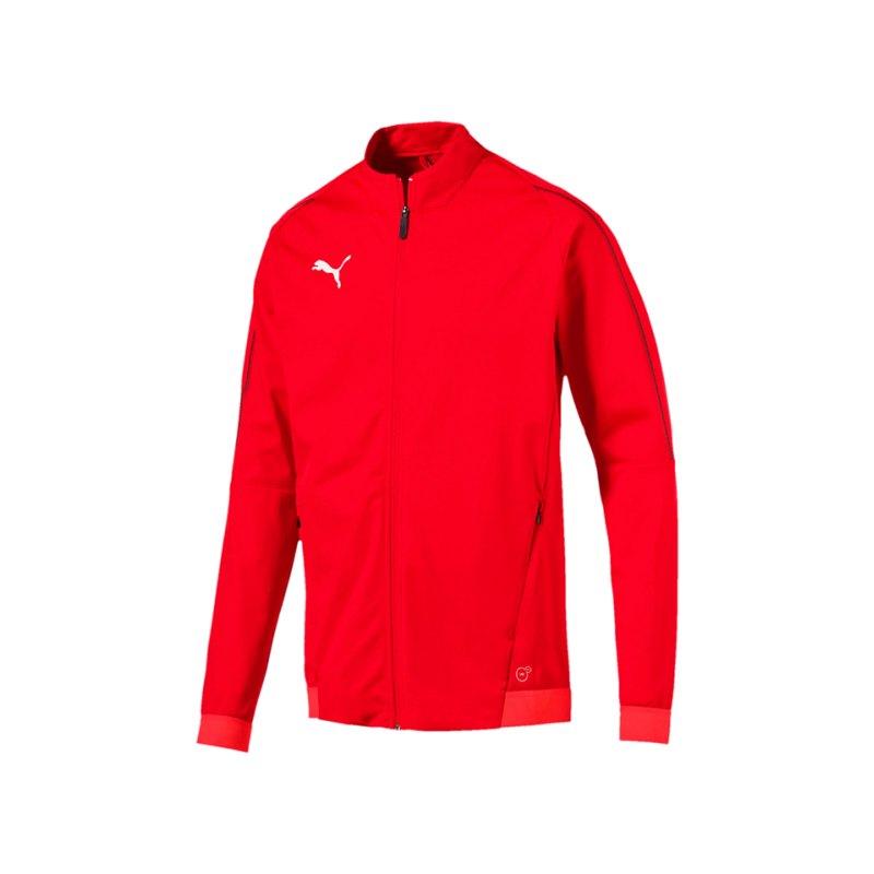 PUMA FINAL Training Trainingsjacke Rot F01 - rot
