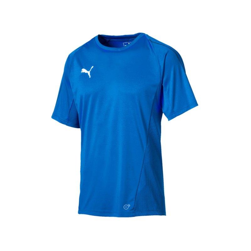 PUMA FINAL Training Trikot kurzarm Blau F02 - blau