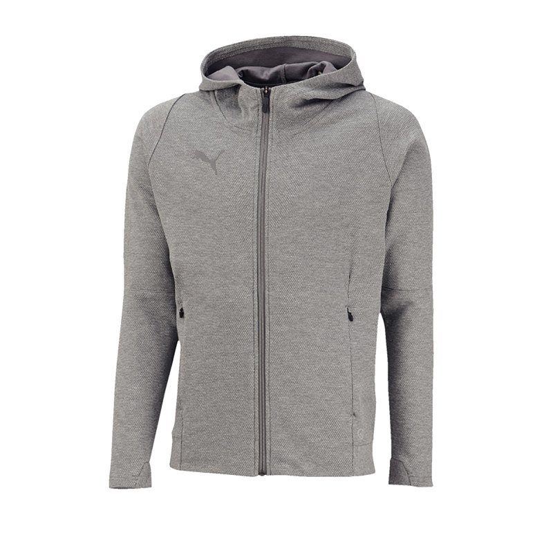 PUMA FINAL Casuals Hooded jacke Grau F37 - grau