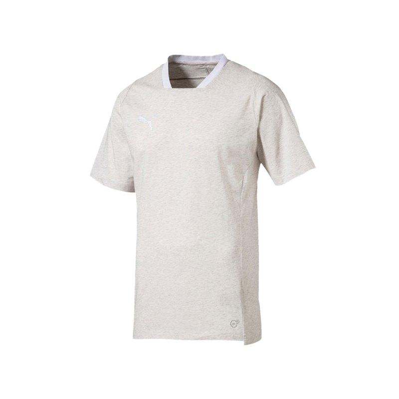 PUMA FINAL Casuals Tee T-Shirt Grau F38 - grau