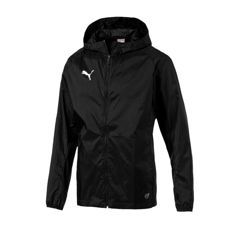 PUMA LIGA Training Rain Jacket Jacke Schwarz F03 - schwarz