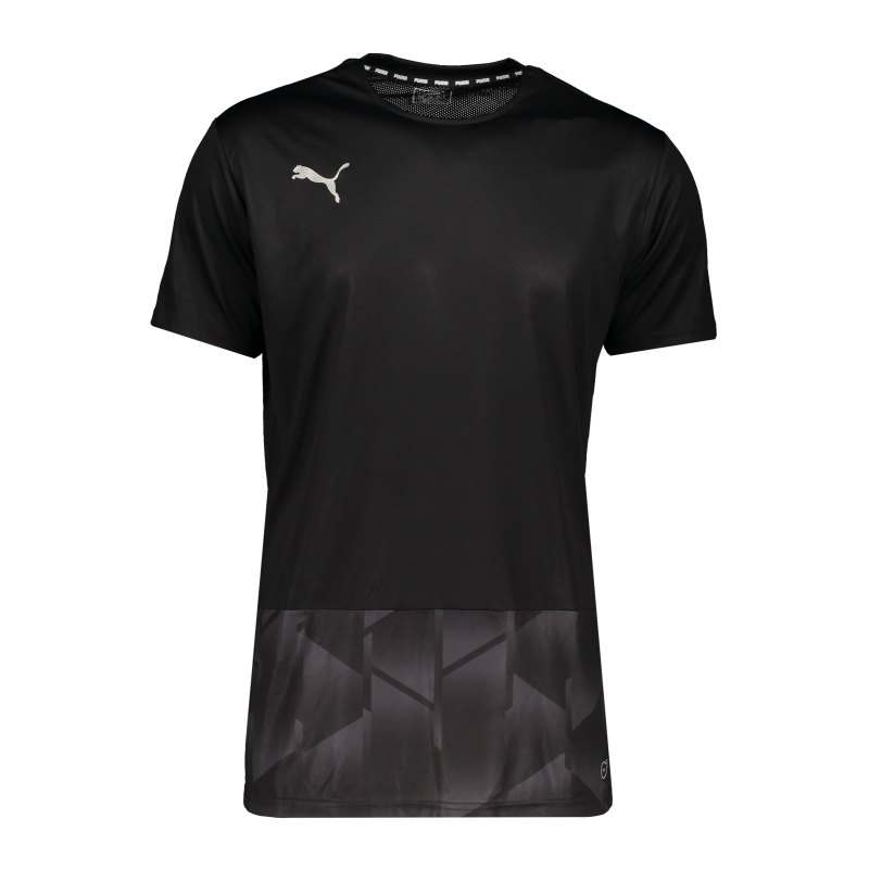 PUMA Football NEXT Graphic T-Shirt Schwarz F01 - schwarz