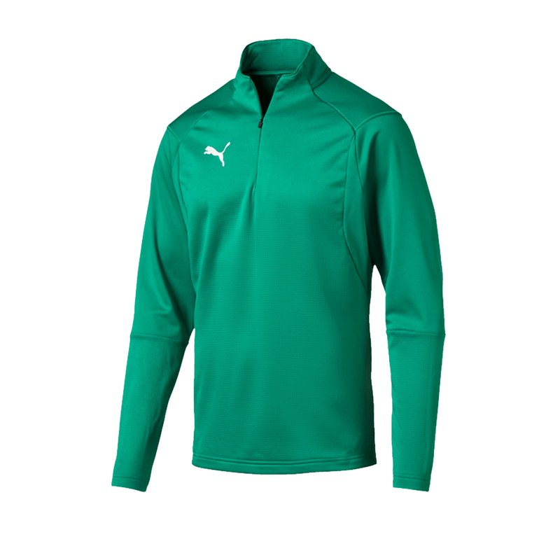 PUMA LIGA Training 1/4 Zip Top Sweatshirt Grün F05 - gruen