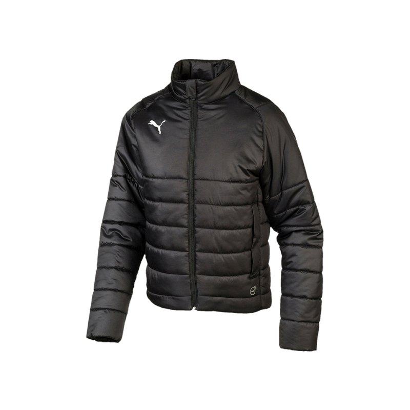 PUMA LIGA Casuals Padded Jacket Kids Schwarz F03 - schwarz