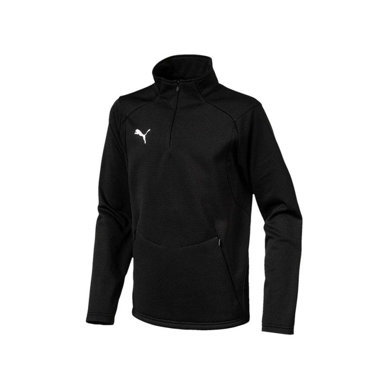 PUMA LIGA Training Fleece Sweatshirt Kids F03 - schwarz