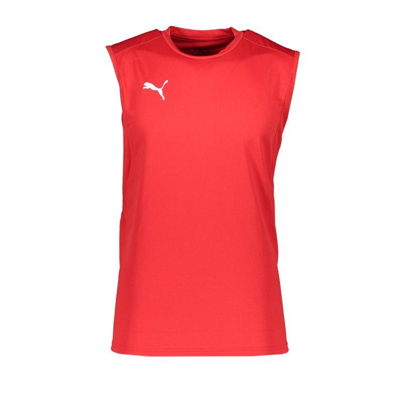 PUMA LIGA Training Jersey Sleeveless Rot F01 - rot