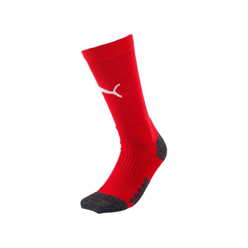 PUMA LIGA Crew Training Socks Socken Rot Weiss F01 - rot