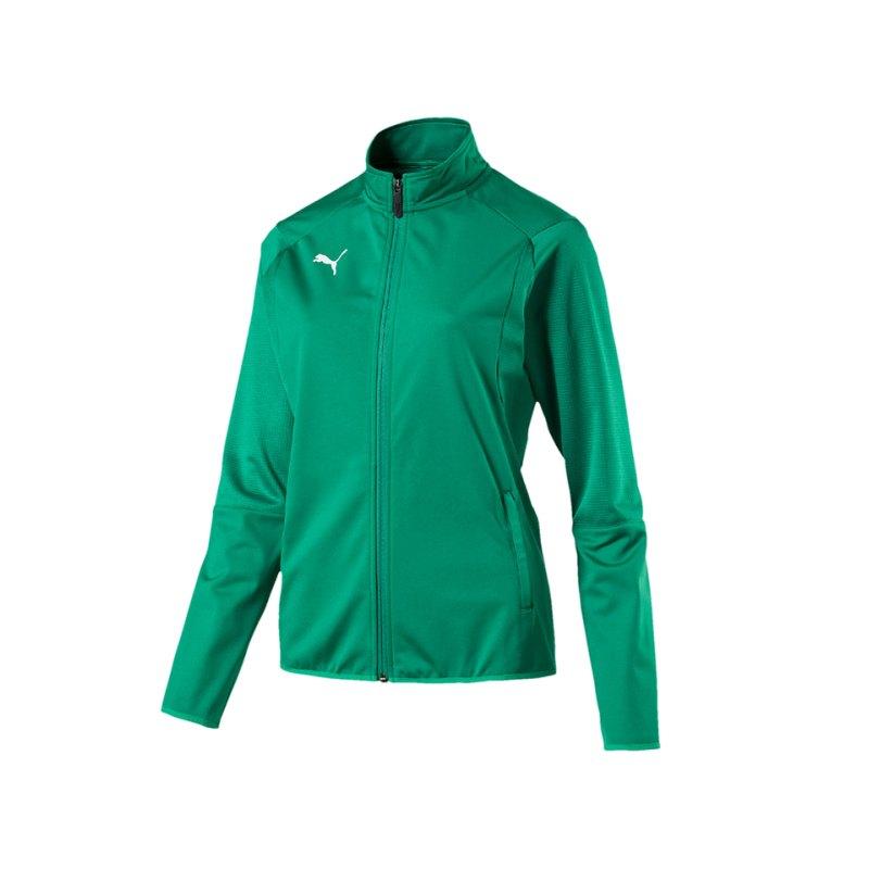 PUMA LIGA Trainingsjacke Damen Grün F05 - gruen