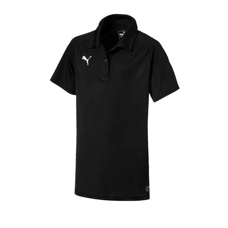 PUMA LIGA Sideline Poloshirt Damen Schwarz F03 - schwarz