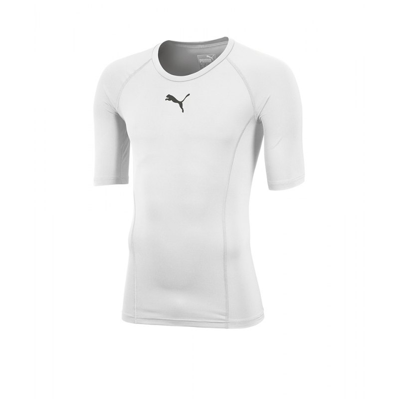 PUMA LIGA Baselayer Shortsleeve Weiss F04 - weiss