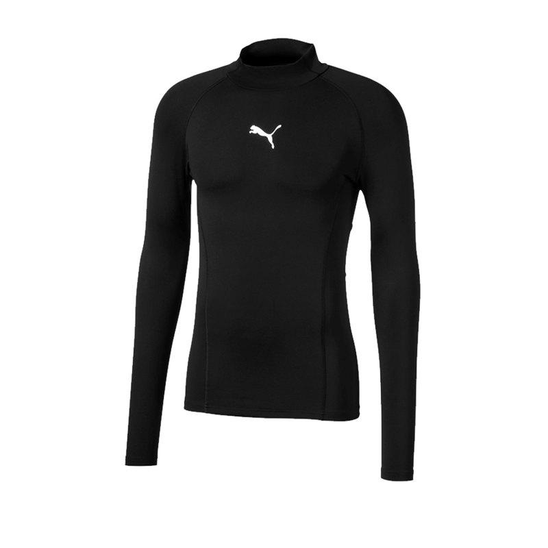PUMA LIGA Baselayer Warm Longsleeve Shirt F03 - schwarz