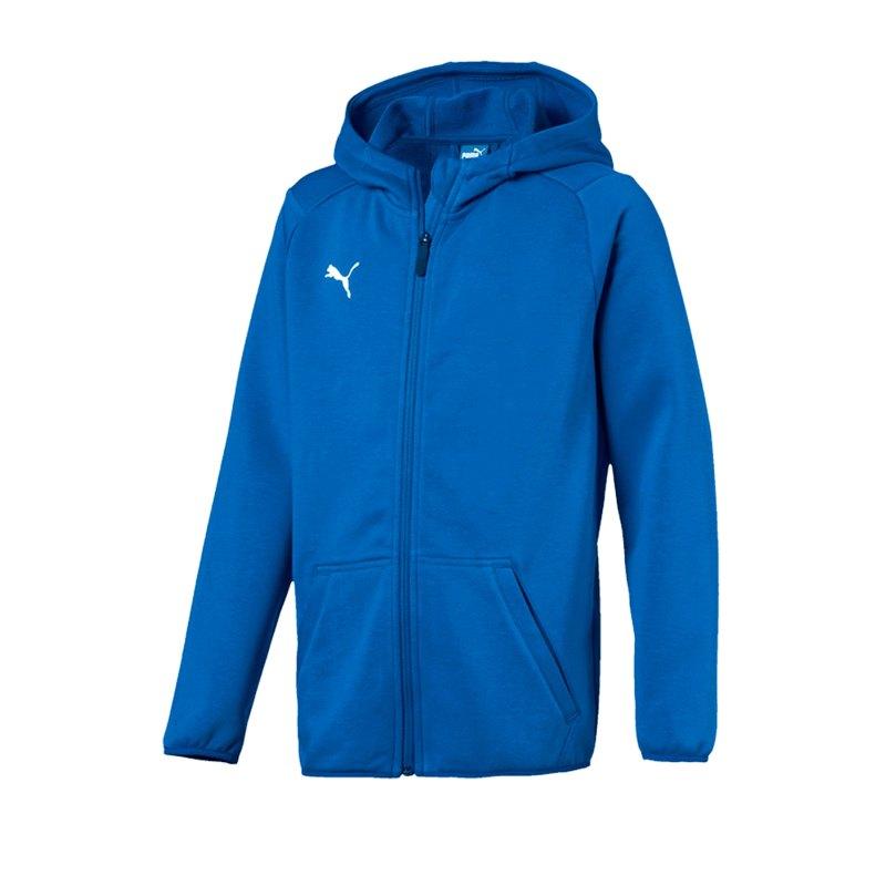 PUMA LIGA Casual Jacket Jacke Kids Blau F02 - blau