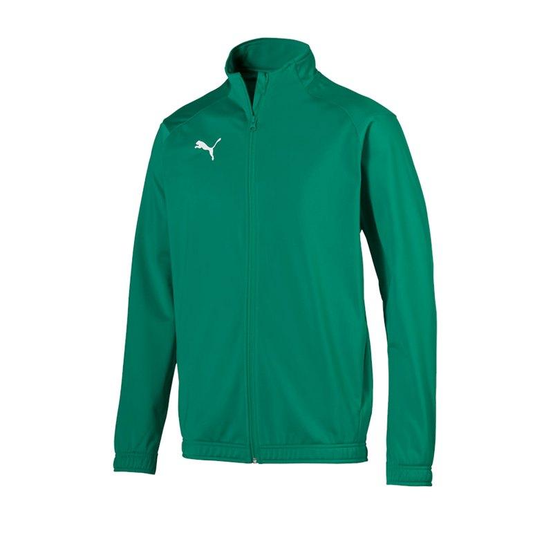 PUMA LIGA Sideline Polyesterjacke Grün F05 - gruen