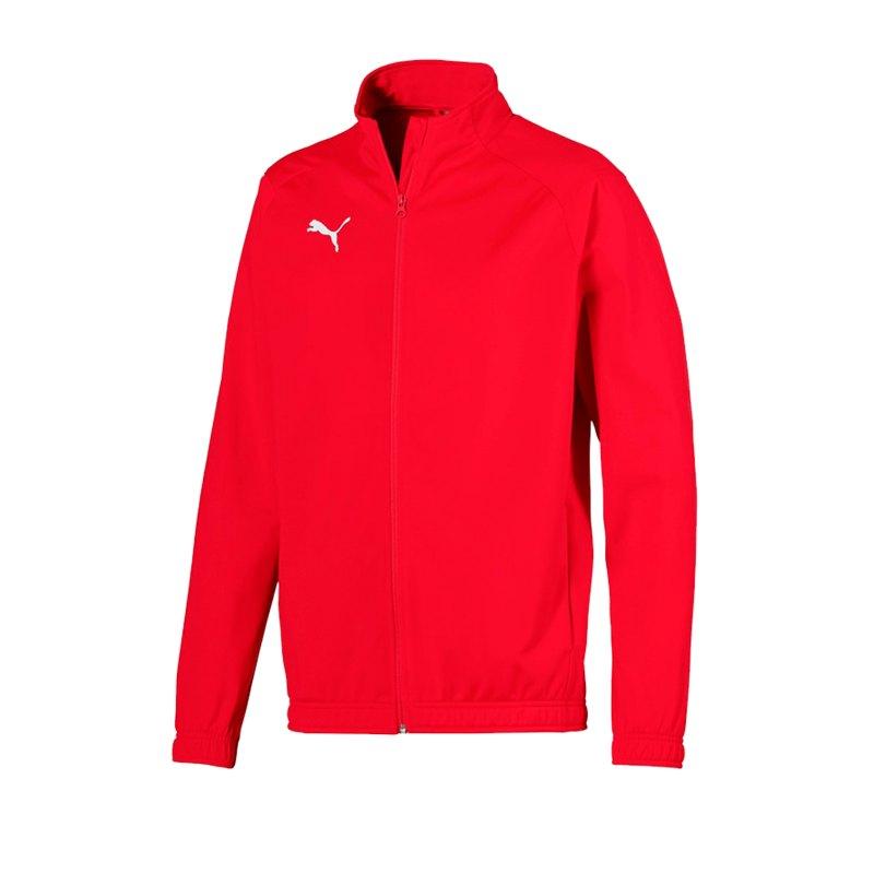 PUMA LIGA Sideline Polyesterjacke Rot F01 - rot