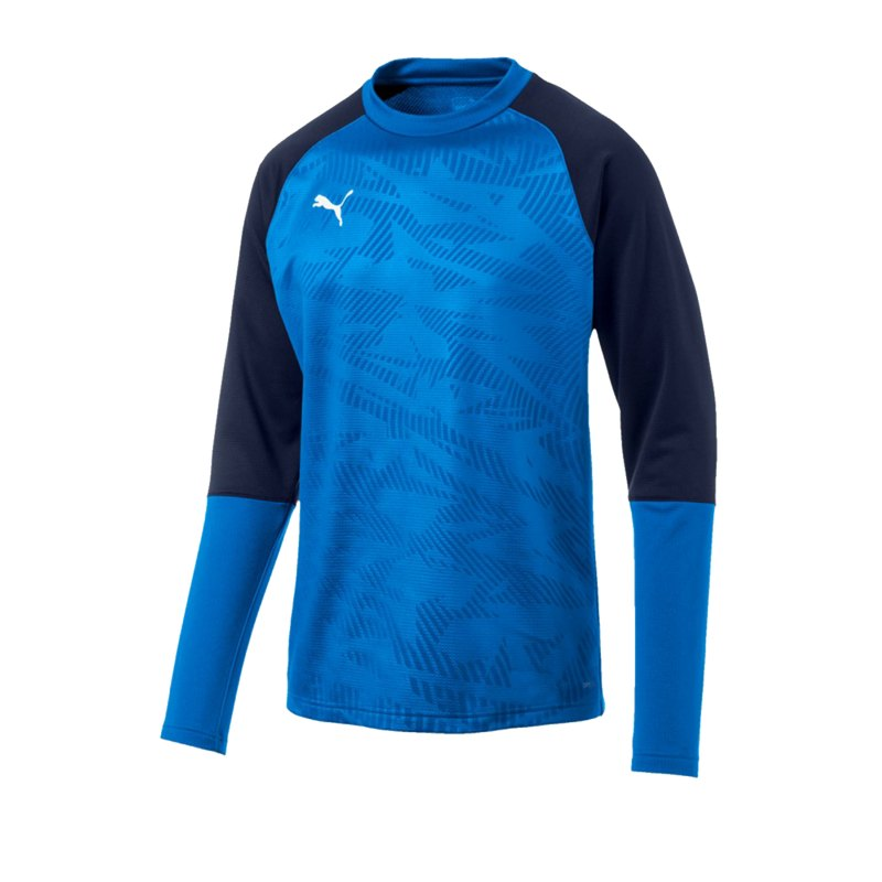 PUMA CUP Training Core Sweatshirt Blau F02 - blau