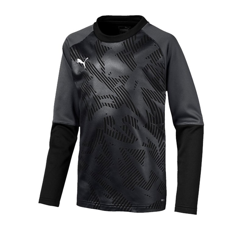 PUMA CUP Training Core Sweatshirt Kids Schwarz F03 - schwarz