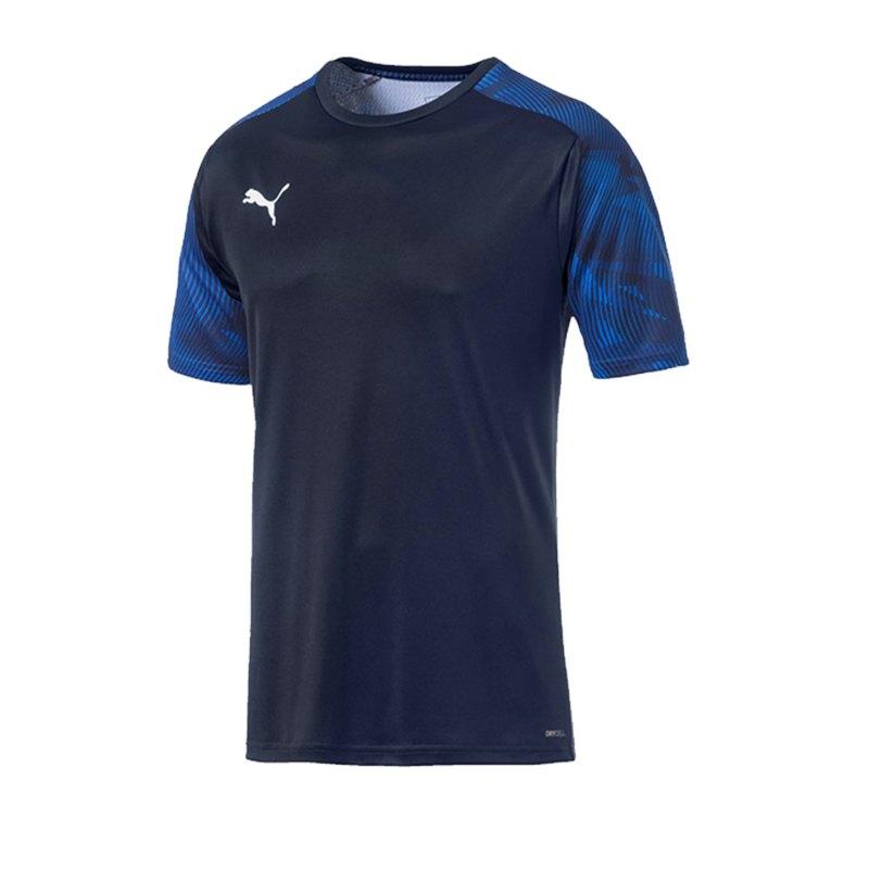 PUMA CUP Training T-Shirt Blau F02 - lila
