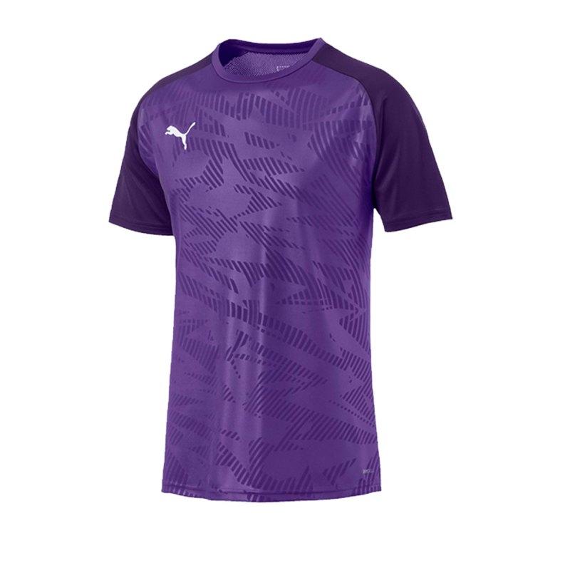 PUMA CUP Training Core T-Shirt Lila F10 - lila