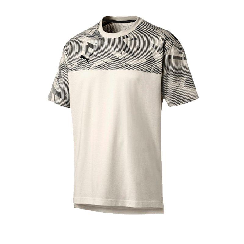 PUMA CUP Casuals Tee T-Shirt Weiss F04 - weiss
