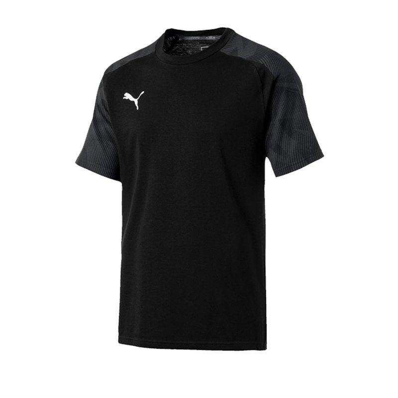 PUMA CUP Sideline T-Shirt Schwarz F03 - schwarz