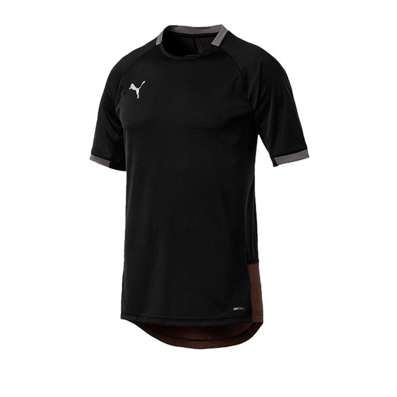 PUMA ftblNXT Pro T-Shirt Schwarz Rot F01 - schwarz