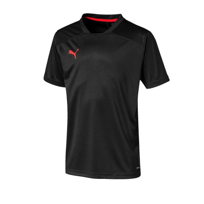 PUMA ftblNXT Shirt Kids Schwarz F001 - schwarz