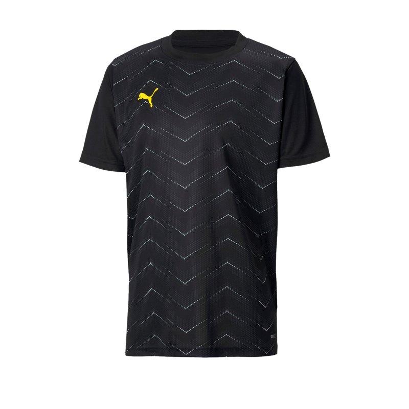 PUMA ftblNXT Graphic Core T-Shirt Kids Schwarz F03 - schwarz
