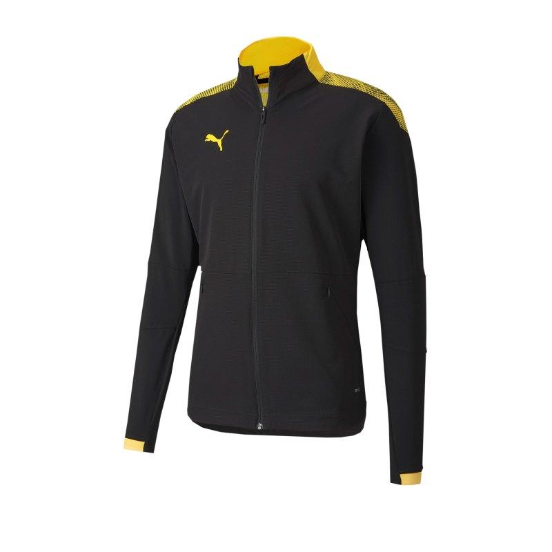 PUMA ftblNXT Pro Jacket Jacke Schwarz Gelb F04 - schwarz