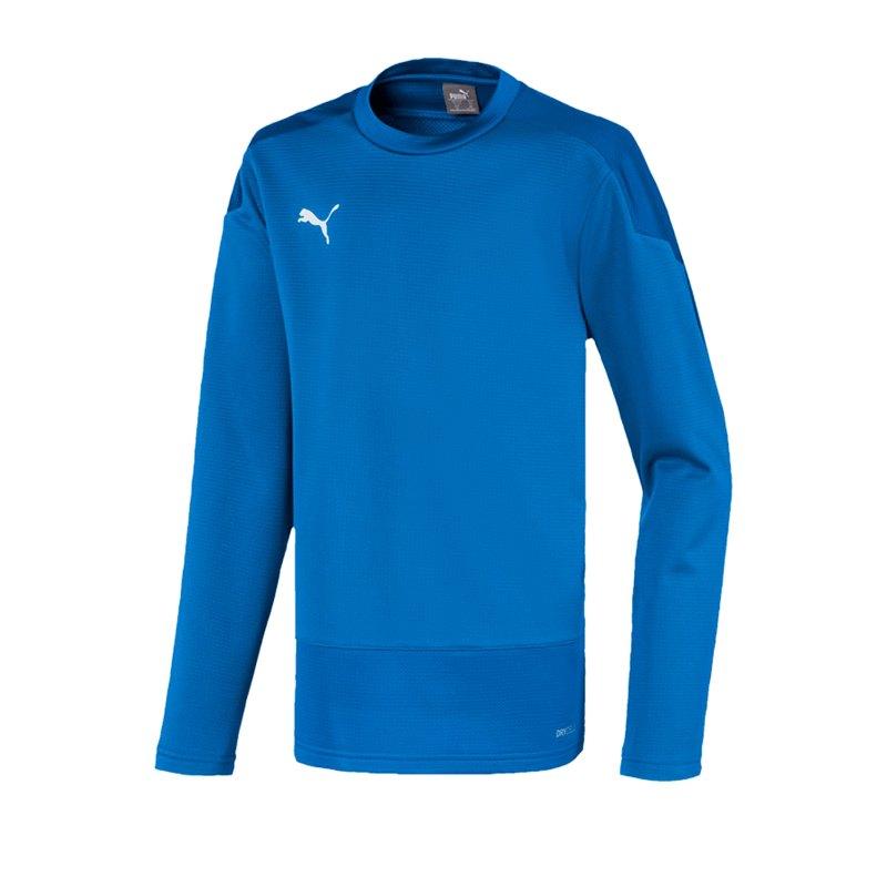 PUMA teamGOAL 23 Training Sweatshirt Kids Blau F02 - blau