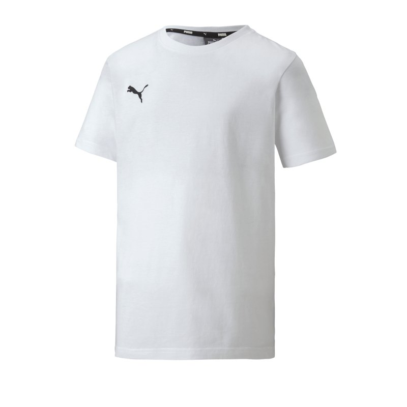 PUMA teamGOAL 23 Casuals Tee T-Shirt Kids F04 - weiss