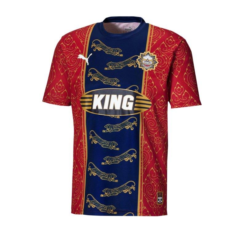 PUMA City Influence Bangkok T-Shirt Rot F01 - rot