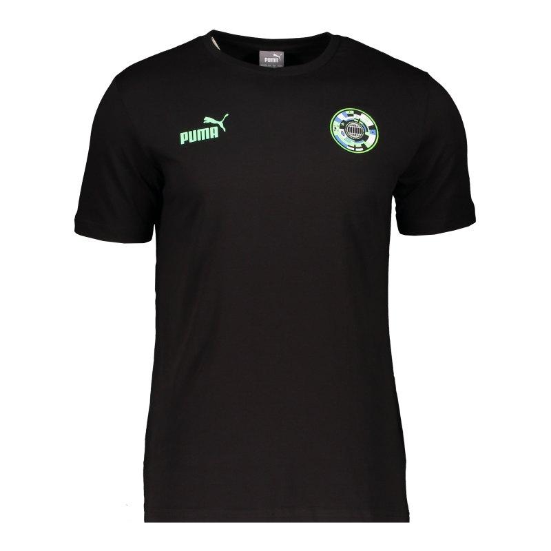 PUMA 365 T-Shirt Schwarz F01 - schwarz