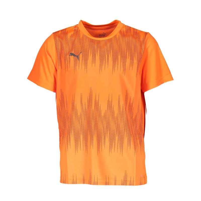 PUMA ftblNXT Graphic Core T-Shirt Kids Orange F02 - orange