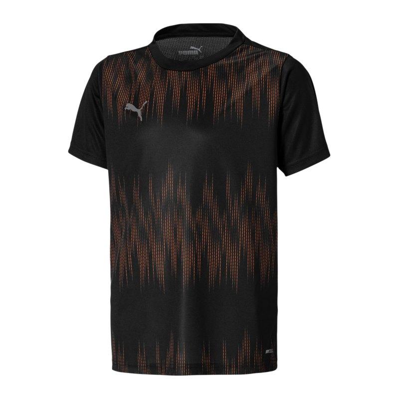 PUMA ftblNXT Graphic Core T-Shirt Kids Schwarz F01 - schwarz