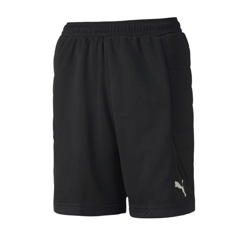 PUMA Goalkeeper Short Torwartshort Kids F01 - schwarz